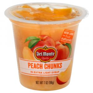 Del Monte Fruit Naturals Yellow Cling Peach Chunks in Juice