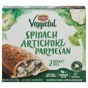 Del Monte Veggieful Spinach Artichoke Parmesan Pocket Pies