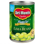 Del Monte Green Lima Beans