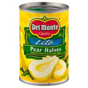 Del Monte Lite Pear Halves