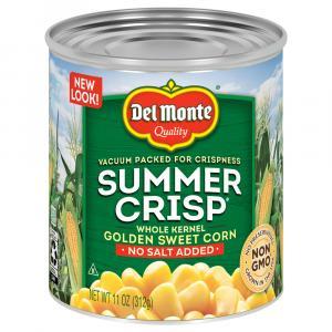 Del Monte Summer Crisp Whole Kernel Golden Sweet Corn