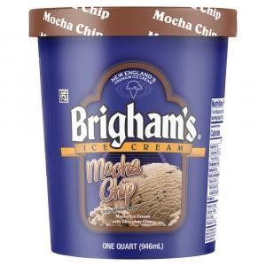 Brigham's Mocha Chip Ice Cream