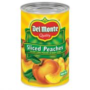 Del Monte Sliced Yellow Cling Peaches in Syrup