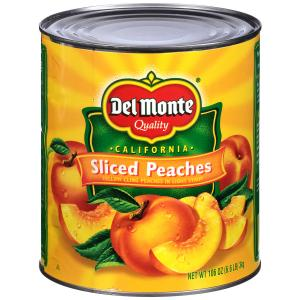 Del Monte Sliced Peaches In Light Syrup