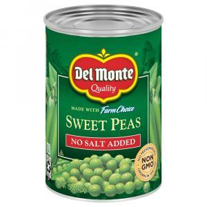 Del Monte No Salt Added Sweet Peas
