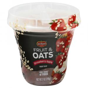 Del Monte Fruit & Oats Strawberry Apple