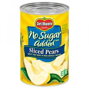 Del Monte Carb Clever Sliced Pears