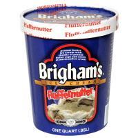 Brigham's Fluffernutter Ice Cream