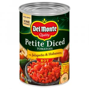 Del Monte Diced Tomato Pieces W/jalapeno Peppers