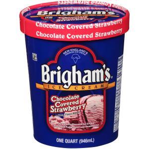 Brigham's Chocolate Covered Strawberry