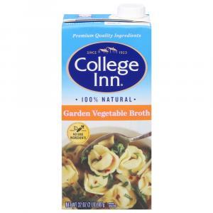 College Inn Garden Vegetable Broth