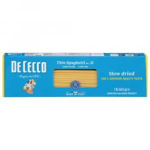 De Cecco Thin Spaghetti Pasta