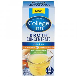 College Inn Concentrate Chicken Broth With 30% Less Sodium