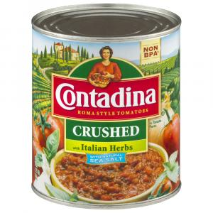 Contadina Italian Herb Seasoned Crushed Tomatoes