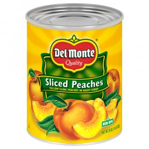 Del Monte Sliced Yellow Cling Peaches