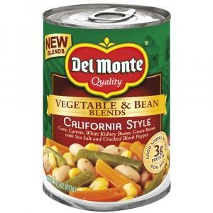 Del Monte Vegetable & Bean Blends California Style