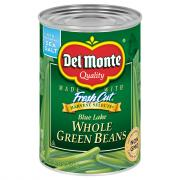 Del Monte Whole Green Beans
