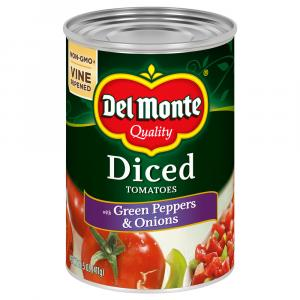 Del Monte Green Pepper & Onion Diced Tomatoes