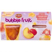 Del Monte Bubble Fruit Peach Strawberry Lemonade