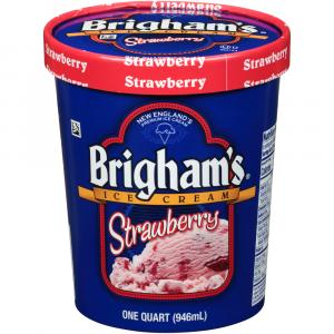 Brigham's Strawberry Ice Cream