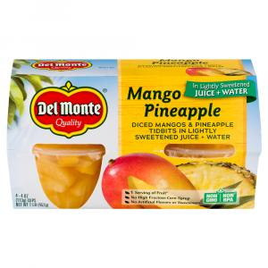 Del Monte Diced Mangos And Pineapple In Light Syrup