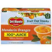 Del Monte Family Pack Mandarin Oranges in 100% Juice
