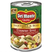 Del Monte Vegetable & Bean Blends Country Style