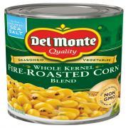 Del Monte Whole Kernal Fire-Roasted Corn Blend