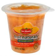 Del Monte Fruit Naturals No Sugar Added Peach Chunks