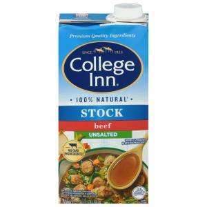 College Inn Unsalted Beef Bold Stock