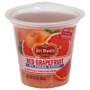 Del Monte Fruit Naturals No Sugar Added Red Grapefruit