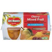 Del Monte Cherry Mixed Fruit No Sugar Added