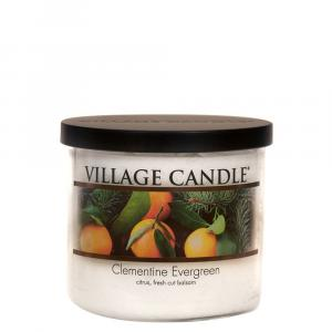 Village Candle 3 Wick Clementine Evergreen