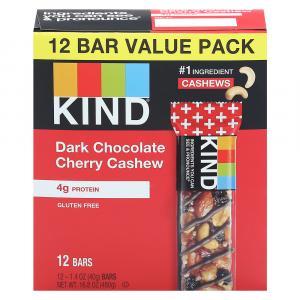 Kind Dark Chocolate Cherry & Cashew Bar