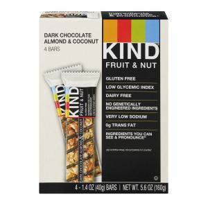 Kind Fruit & Nut Dark Chocolate Almond & Coconut Bars