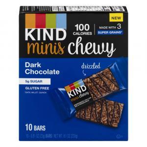 Kind Minis Dark Chocolate Chewy Bars