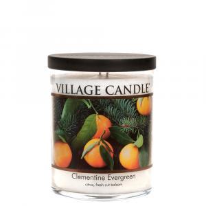 Village Candle Decor Clementine Evergreen