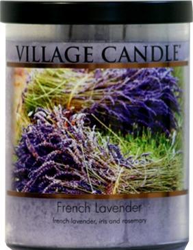 Village Candle Decor French Lavendar 14 Oz.