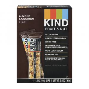 Kind Almond And Coconut Bars
