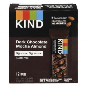 Kind Dark Chocolate Mocha Almond