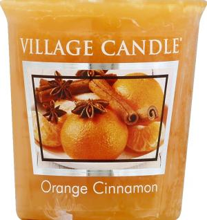 Village Candle Orange & Cinnamon Votive Candle