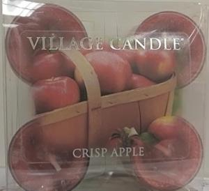Village Candle Tea Light Crisp Apple