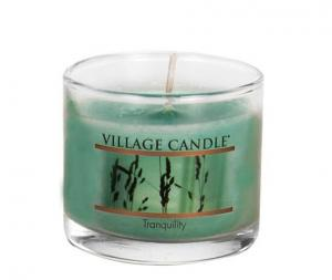 Village Candle Tranquility Mini Glass Candle