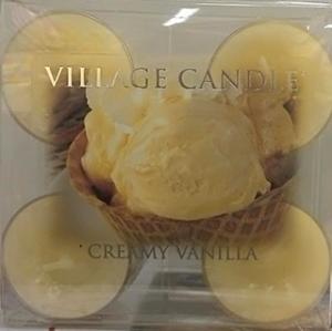 Village Candle Tea Light Creamy Vanilla