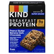Kind Breakfast Protein Peanut Butter Dark Chocolate Bars