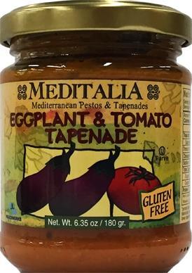 Meditalia Eggplant & Tomato Tapenade