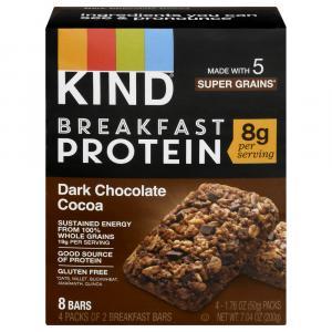 Kind Dark Chocolate Cocoa Breakfast Bars