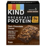 Kind Dark Chocolate Cocoa Breakfast Bars