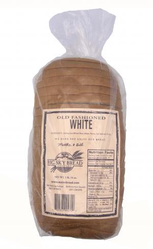 Big Sky Old Fashioned White Bread