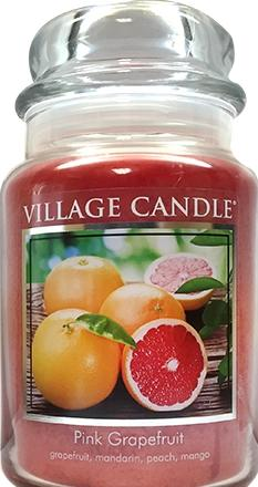 Village Candle Pink Grapefruit Candle